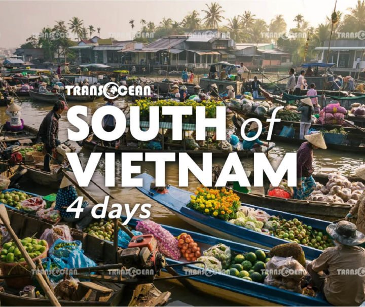 South of Vietnam 4 days