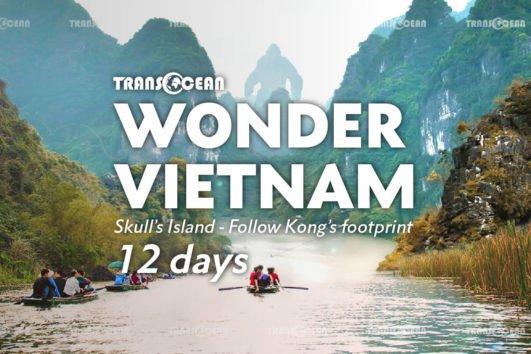 The Wonder Vietnam – Skull island - Follow Kong's footprint 12 days