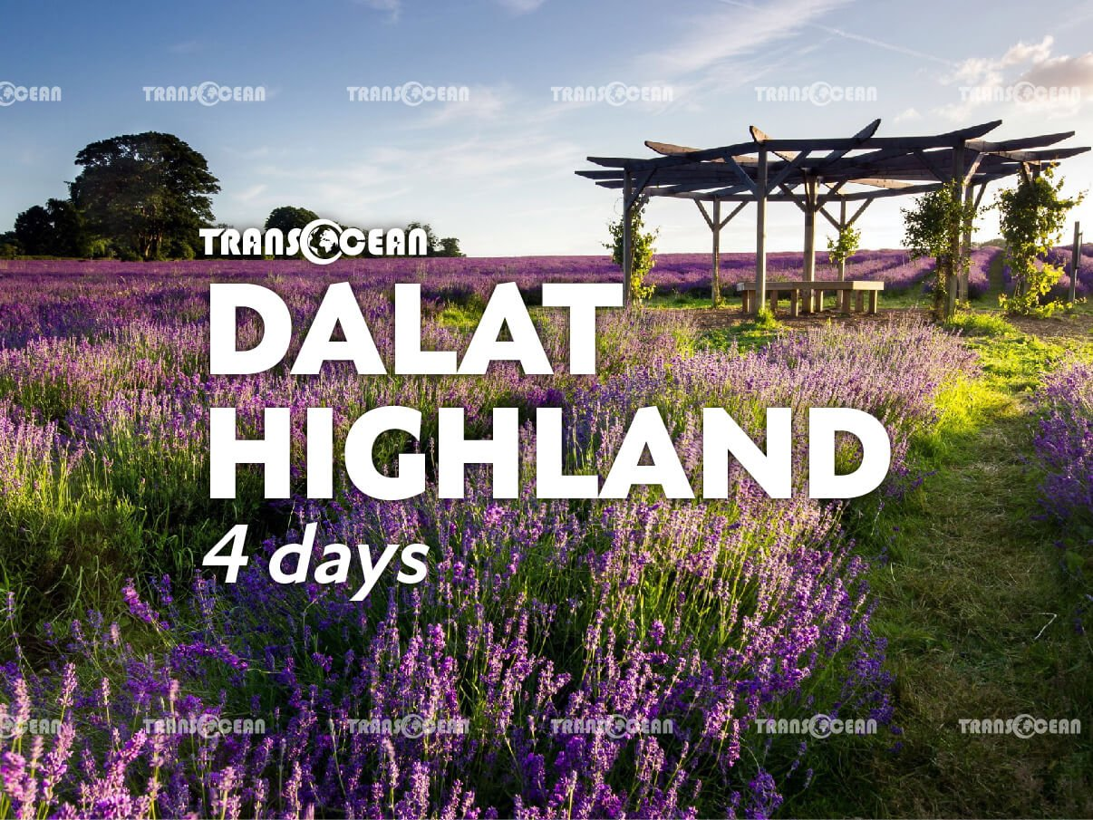 DA LAT HIGHLAND 4 Days 3 Nights